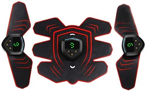 FENGRONG EMS Elettrostimolatori Scarpe da Ginnastica, Forma Fisica del Toner Attrezzi Sticker Addominale Esercizio, Portatile ABS Toner con L\'addome/Braccio/Leg
