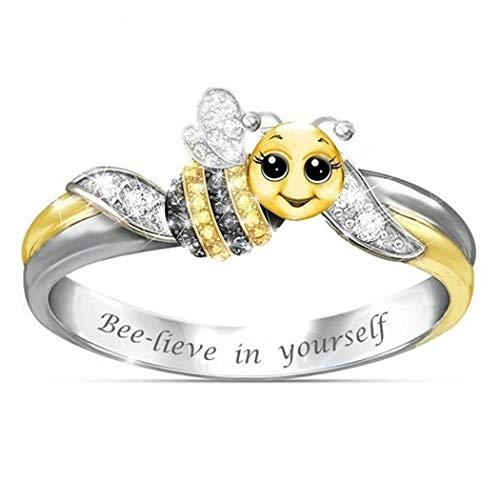Anello con  ape