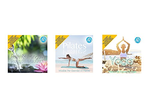 Oferta especial 3 Cd Doppio Della Serie Wellness Relax, Reiki e Feng Shui, Pilates, Yoga Musica Rilassante Special offer Series Wellness Reiki and Feng Shui, Pilates, Yoga Music Relaxing