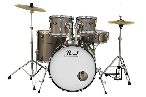 Pearl Roadshow 5-Piece Drum Set, Bronze Metallic (RS525SC/C707)