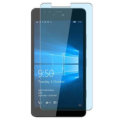 Vaxson 4 Unidades Protector de Pantalla Anti Luz Azul, compatible con Microsoft Lumia 950 [No Vidrio Templado] TPU Película Protectora