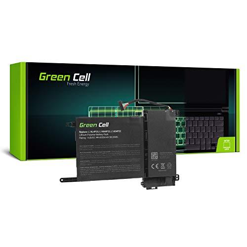 Green Cell 4ICP6/54/90 L14L4P23 L14M4P23 L14S4P22 Laptop Battery for Lenovo IdeaPad Y700-15ACZ Y700-15ISK Y700-17ISK Y700-15ISK Touch (Li-Polymer Cells 4000mAh 14.8V Black)