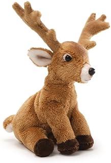 "GUND Fun Christmas Deer Beanbag 6"" Plush"