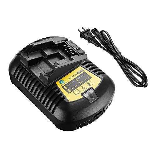 FirstPower DCB205 DCB105 DCB101 Battery Charger - Compatible with 12V-20V MAX Li-Ion Battery DCB201-2 DCB201 DCB200 DDCB181 DCB180 DCB120 etc