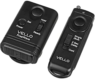 Vello FreeWave Wireless Remote Shutter Release for Nikon with 10-Pin Connection
