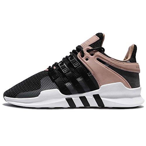 adidas Women's EQT Support Adv W Gymnastics Shoes, Black (Core Black/FTWR White/Grey Three F17), 4 UK