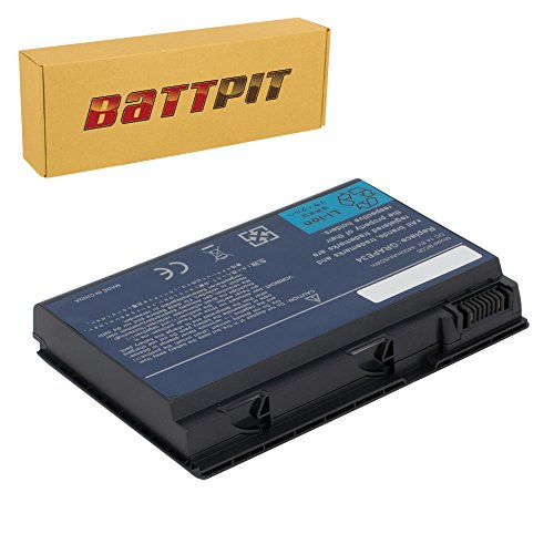 Battpit Batteria per Portatile Acer CONIS72 GRAPE34 TravelMate 5220 5720 5730 6592 7220G Extensa 5220 5235 5630Z 5230E 5630G - [8 Celle/4400mAh/65Wh]