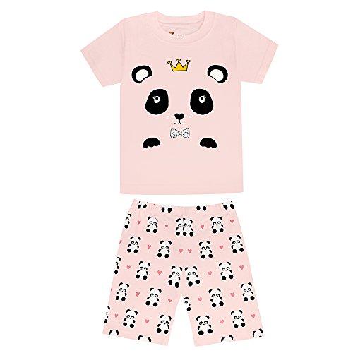 MOLYHUA Baby Mädchen Schlafen Schlafanzug Baumwolle Baby-Nachtwäsche Snug Fit Sleepwear Pajama Set 92 98 104 110 116 122 128