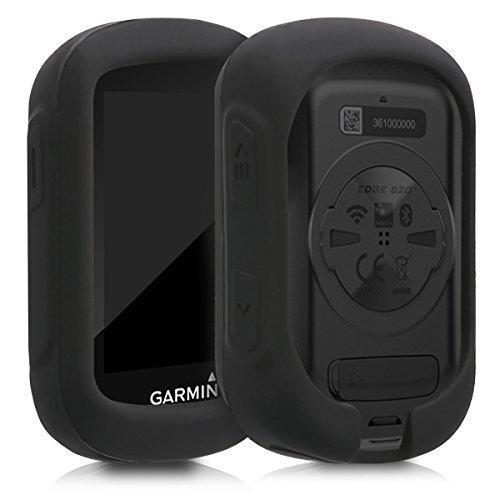 kwmobile Carcasa GPS Compatible con Garmin Edge 130/130 Plus - Funda de Silicona para navegdor de Bici - Negro