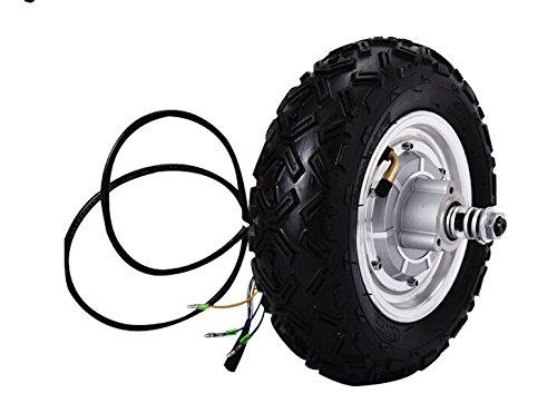 GZFTM - Monopatín eléctrico de 10 pulgadas (800 W, 48 V) para bicicleta eléctrica Motor de 2 ruedas Motor de patinete eléctrico