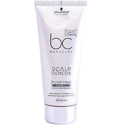 Bc Bonacure Scalp Genesis Shampoo Purificante 200Ml, Schwarzkopf Professional