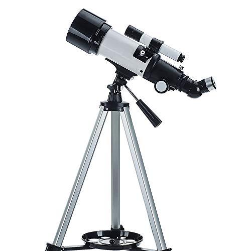 LXHkk Astronomische Telescoop 40070 HD Hoge Vergroting BAK4 Prism Imaging 3X Teleconverter Super Wide-Angle Eyepiece 48 ° Positieve Afbeelding Zenith Spiegel 5 * 24 Star Finder Verstelbare Statief