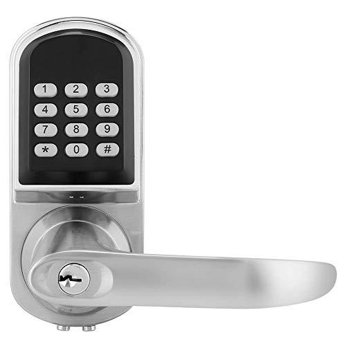 AYDQC Smart Türschloss, Digitales Passwort Mechanische Key Card Smart Türschloss Anti-Diebstahl-Tor Schloss for Apartment fengong