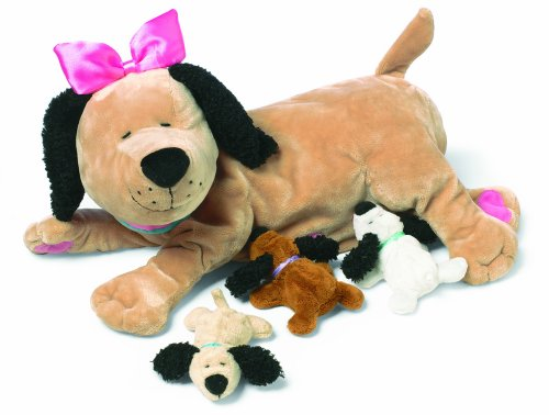 Manhattan Toy Nursing Nana Dog Nurturing Soft Stuffed Animal Toy