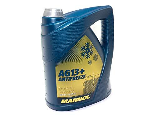 MANNOL antivries antivries AG13 + -40 geavanceerde kant-en-klare mix 5 l