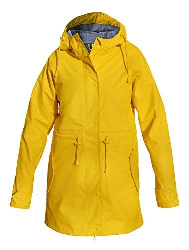 Modas Damen Regenmantel - leicht tailliert, Farbe:gelb;Größe:40/42