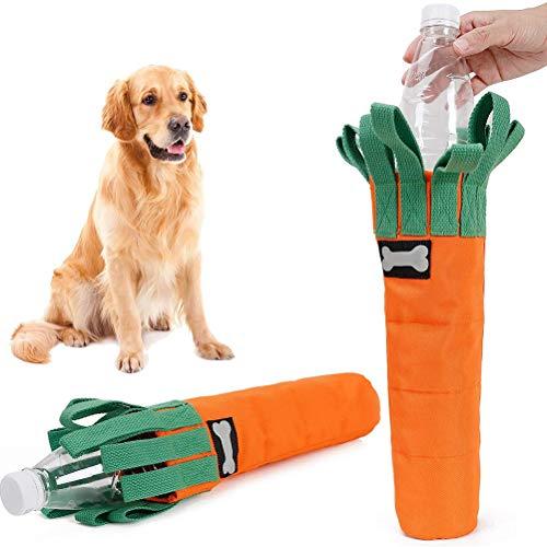 YINLING Karottenbissbeständiges Hundespielzeug, Dicker Oxford-Stoffbezug Für Selbstgemachtes Haustierspielzeug Aus Plastikflasche Mit Sniffs Interaktives Spieldesign, Perfekt