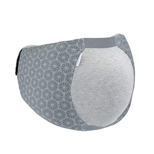 Babymoov Dream Belt - Ergonomischer Gürtel für den Schlafkomfort der schwangeren Frau, elastisch, passt sich an alle Schwangerschaftsphasen an, XS/S, Grau
