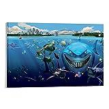 kebey Animierter Film, Findet Nemo, Hai mit Zähnen,