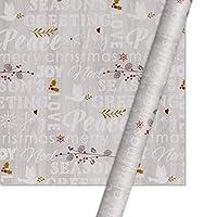 50 * 70センチメートルクリスマスラッピングペーパーグラデーションホリデーギフトデコレーション紙のクリスマスシリーズウェディングギフトラッピングペーパー2020・デザイン ZHEN CHEN (色 : 3)
