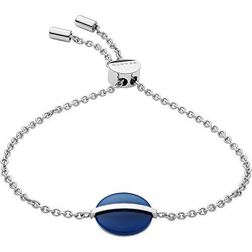 Skagen Damen-Armband Sea Glass Edelstahl Blau SKJ1295040