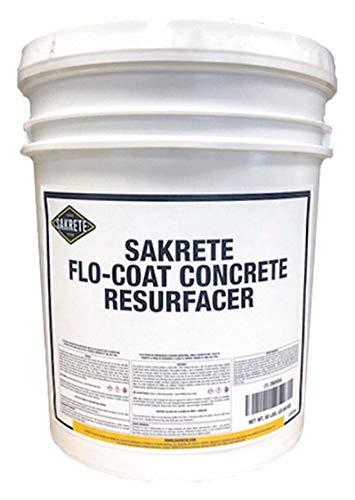 Concrete Refinisher, Pail, 50 lb., Gray