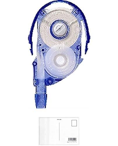 トンボ鉛筆 修正テープ MONO モノYXカートリッジ 6mm CT-YR6 【× 7 個 】 + 画材屋ドットコム ポストカードA