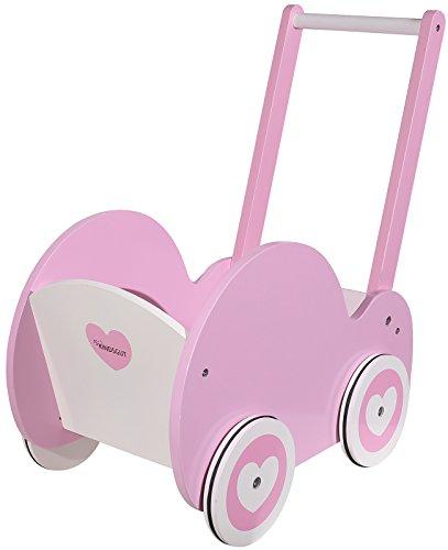 Kindsgut Poppenwagen, poppenmeubels, houten speelgoed