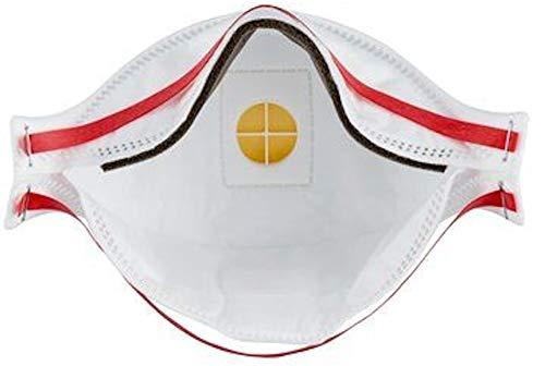 Atemschutzmaske 3M 9332+ FFP3 mit Ventil maximaler Schutz gegen gefährliche Staub, Bakterien, Viren, 9332+ - 6