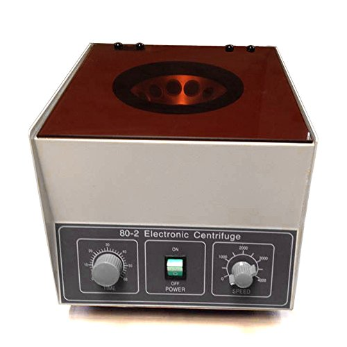 F2C Electric Lab Medical Practice Desktop Centrifuge Machine,110V 80-2 4000rpm 40w