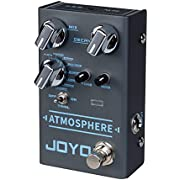 JOYO Atmosphere R-14 R Series Reverb Pedal Built-in 9 Digital Reverb Types, with Modulation Effects Depth Control and Trail Function for Electric Guitar (R-14)