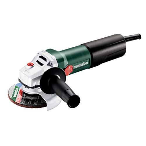 Metabo 610035000 Winkelschleifer WQ 1100-125 Schleifscheiben Ø 125 mm, 1100 W, Werkzeug-Schnellwechsel-Funktion