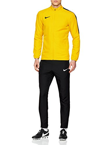 NIKE M NK Dry Acdmy18 TRK Suit W Tracksuit, Hombre, Tour Yellow/Black/Anthracite/Black, L