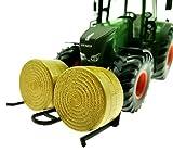 Front Doppel-Ballengabel für Siku Traktoren 1:32 (Schwarz)