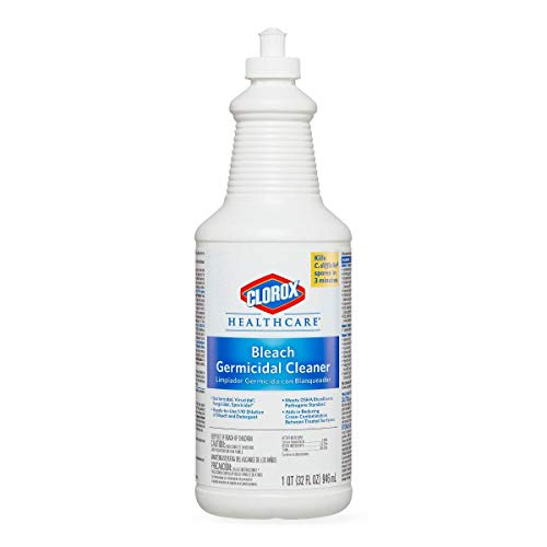 Clorox 68832 Bleach Germicidal Cleaner, Unscented, 32oz, Pack of 6