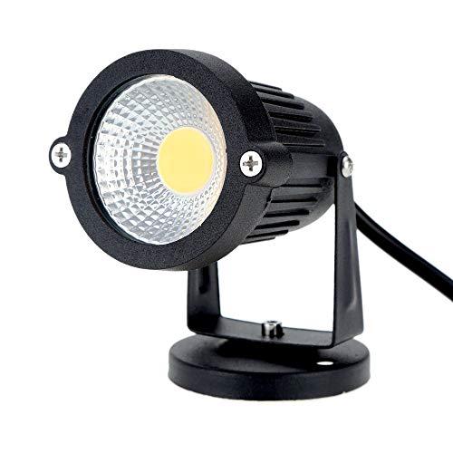 VISLONE 8W 85-265V AC IP65 schwarz Aluminium Rasen LED Spot Licht Lampe High-Power RGB Warm/Natur weiß Teich Garten Pfad CE RoHs