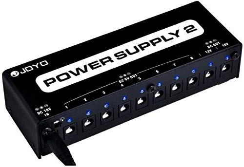 JOYO Power Supply 10 Output 9V 12V 18V Options Isolated Short-circuit Overload Protection for Effect Pedal