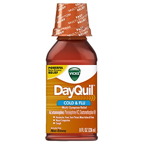 Vicks DayQuil Cold & Flu Syrup, 8 fl oz