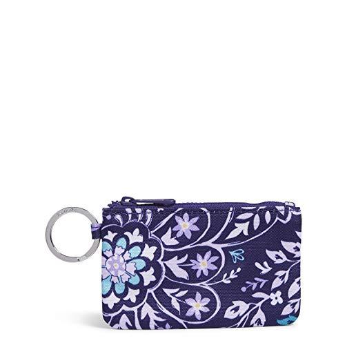Vera Bradley Women's Recycled Lighten Up Reactive Zip ID Case Wallet, Belle Paisley, One Size