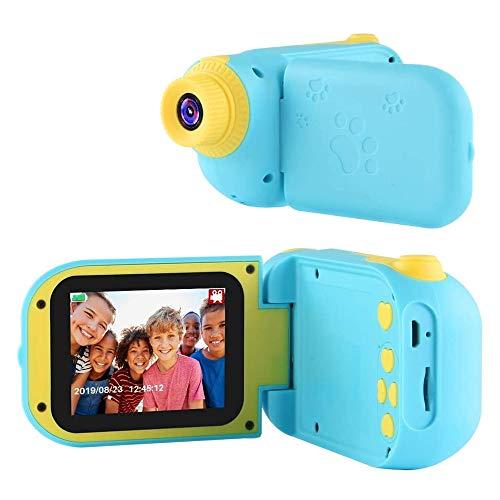 TekHome 2020 Regalos Navidad Originales Niños 3 4 5 Años | 12MP Cámara de Fotos para Niños con 5 Juegos | Regalos Cumpleaños Niños Colegio 6 7 8 Años | 1080P Cámara Digital con 32GB Tarjeta SD | Azul.