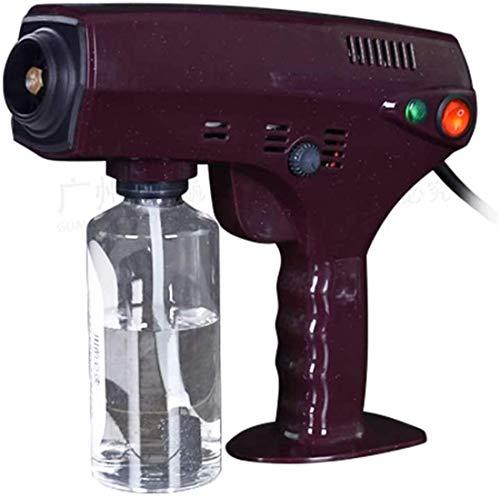 DAGCOT Sprayer Blue Light Nano Spray Gun Nano Sterilization Spray Gun, with Large Capacity Spray Bottle Spray Hair Care, Red, B (Color : Red c)