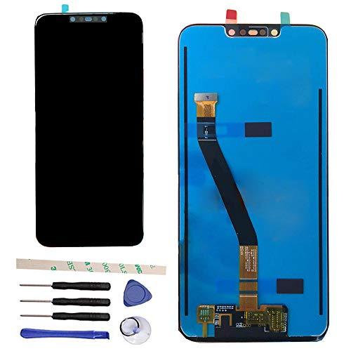 Draxlgon Sostituzione per Huawei Mate 20 Lite SNE-AL00 SNE-LX1 LX2 LX3 L21 L23 / Mate20 Lite 6.3inch Gruppo del digitalizzatore del Touch Screen del Display LCD (Nero)