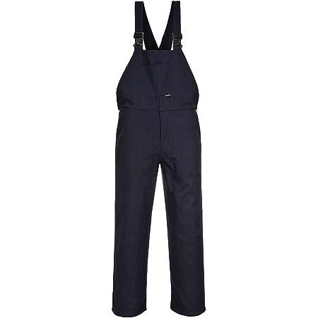 Engineers Bib & Brace Trousers Dungarees Work Workwear Student S - 4XL C881