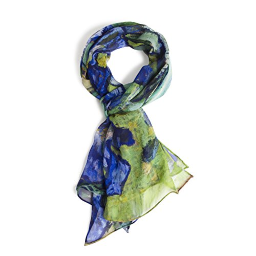 THE J. PAUL GETTY MUSEUM - Van Goghs Irises  Women's Scarf  100%