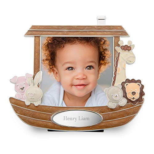Things Remembered Personalized Noahs Ark Photo Frame with Engraving Included