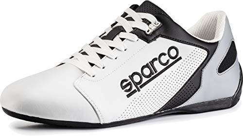 SPARCO 00126341BINR Zapatillas SL-17 Taille 41 Blanc Noir