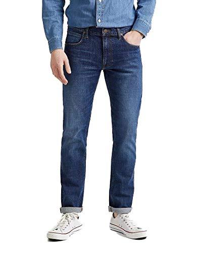 Lee Herren Daren Zip Fly Jeans, Mid Foam, 36W / 36L