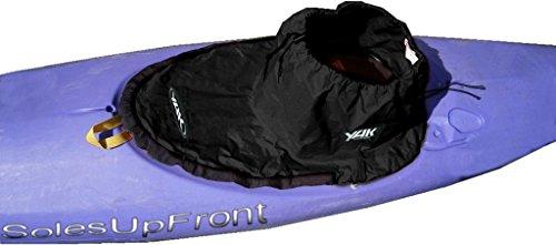 SUF-spray per kayak sit in Nylon. Play kayaks. nero, barche, acqua, kayak, ocean kayak