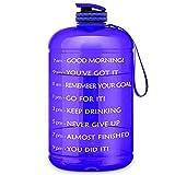 FRETREE Gallon Water Bottle Portable Water Jug - Fitness Sports...