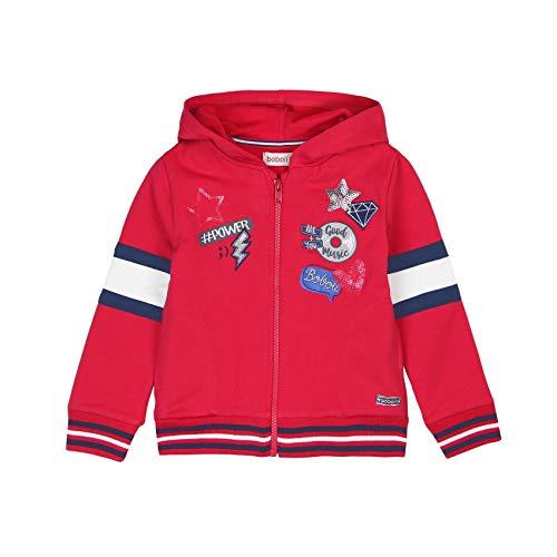 Boboli Boboli Mädchen Fleece Jacket Stretch for Girl Sweatshirt, Rot (Scharlachrot 3591), 6 Jahre